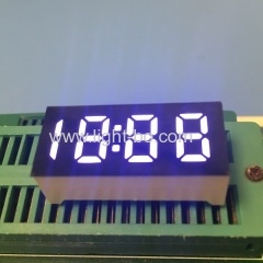 "Ultra white 0.36"" 4 digit 7 Sement led clock dispaly common anode for home appliances"
