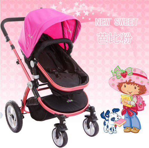 baby stroller manufacturer high landscape and foldable baby pram