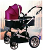 Fashionable Shocking Proof Luxury 3 in 1 Baby Stroller