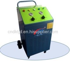 Light commercial refrigerant recovery recycling recycle machine unit