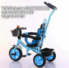 Plastic steel or aluminium Material and Ride On Toy Style children tricycle for kids