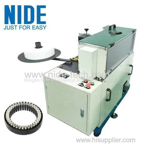 Economic type stator insulation paper insertion machine