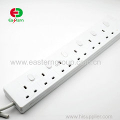 6 ways outlet power strip surge protector