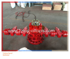 API Tubing Spool Wellhead Equipment