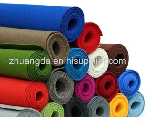 Professional customized industrial equipment packaging felt cloth high quality polyester chemical fiber color non-woven