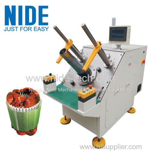Three Phase Motor Stator Semi-automatic Coil Winding and wedge Insertion Machine