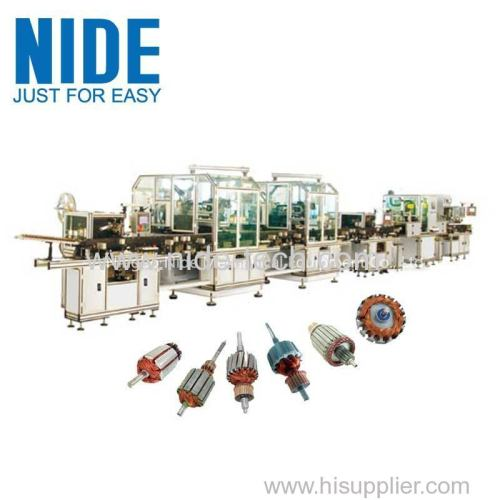 High Effiecency Rotor Winding Machine Rotor Manufacturing Assembly Line
