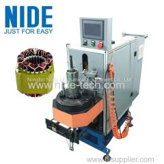 Economic type stator coil lacing machine