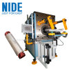 Single phase induction motor stator coil winding inserting machine
