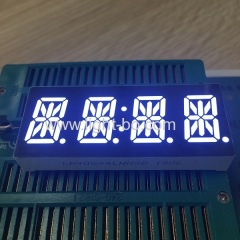"Ultra bright white 0.54"" 4 Digit 14 Segment LED Display common cathode for home appliances"