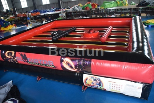 Inflatable gladiator jousting sticks battle