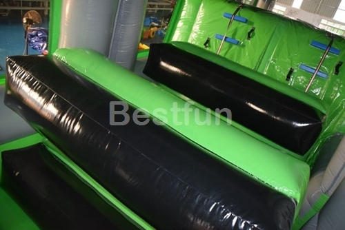 Obstacle race inflatable game