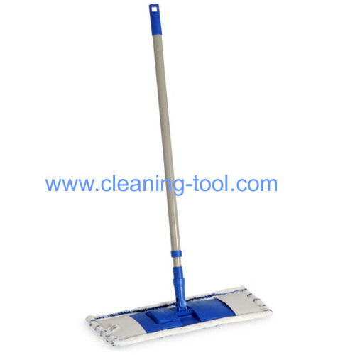 Microfiber Flat Dust Mop with Telescopic Handle