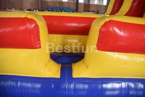 Inflatable bungee run sports game