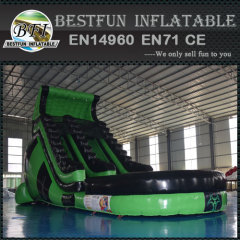 Nuclear Atomic Drop Inflatable Slide