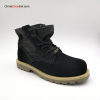 Comfortable Customized Men's Cow Suede Leather Boots