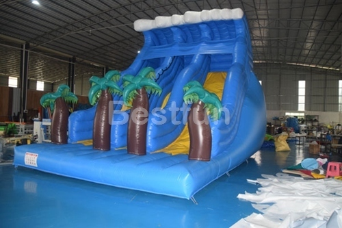 Giant Tropical Palm Tree Inflatable Water Slid
