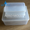 Disposable food square plastic container mould