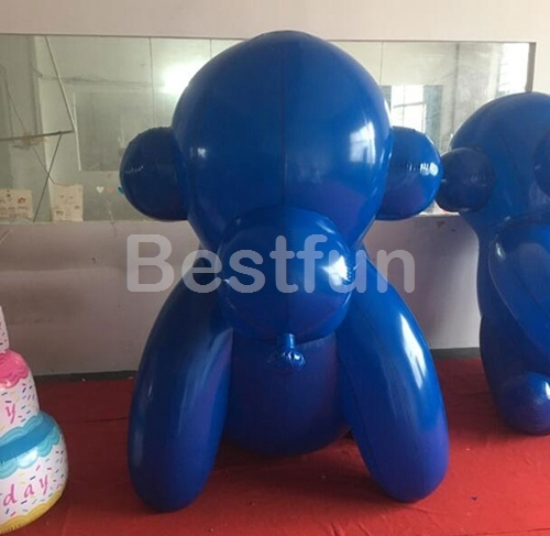 Advertising inflatable monkey costume mascot