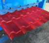 Glazed Steel Profile Galvanized Roofing Sheet Tile Roll Forming Machine