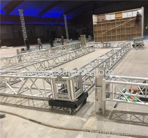 Arc Roof Truss System for Concerts