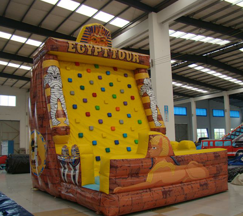 Inflatable rock climbing good for your kids