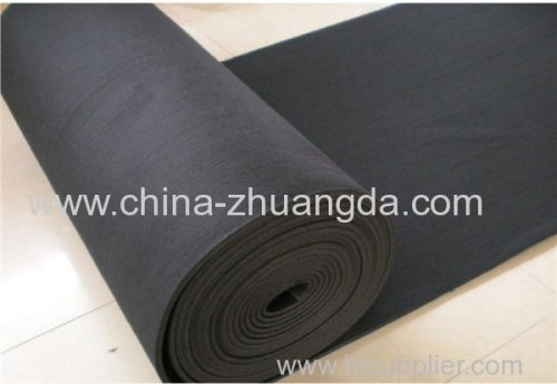 high-quality 2-8mm thickness wool felt using in purifying and filtering dust for purification equipment