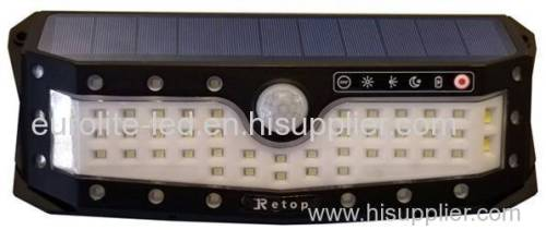 euroliteLED 57LED Solar Lights with Wide Angle Illumination Outdoor Motion Sensor Waterproof Wall Light