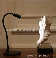 euroliteLED Flexible Gooseneck Eye-Caring Study Table Lamp