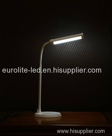 euroliteLED LED Aluminum Dimmable Desk Lamp with Touch/Timer/Memory Function