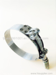 high torque ring adjust T type clip fire control hose clamp