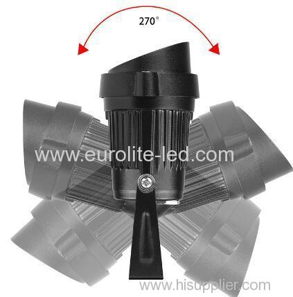 euroliteLed 3W 5W COB lamp ip65 w EU USA Power Factor 0.9up cable plug lawn lamp sculpture light pond light