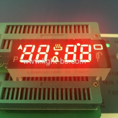 "Ultra 4 digit 0.38"" common anode 7 segment led dispaly for digital oven timer controller"