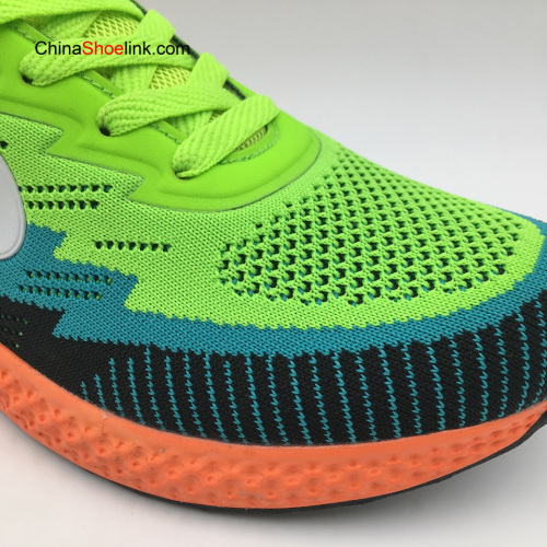 Wholesale Colorful Flyknit Mens Sneakers Sports Running Shoes