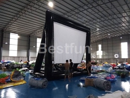Projector outdoor advertising screen
