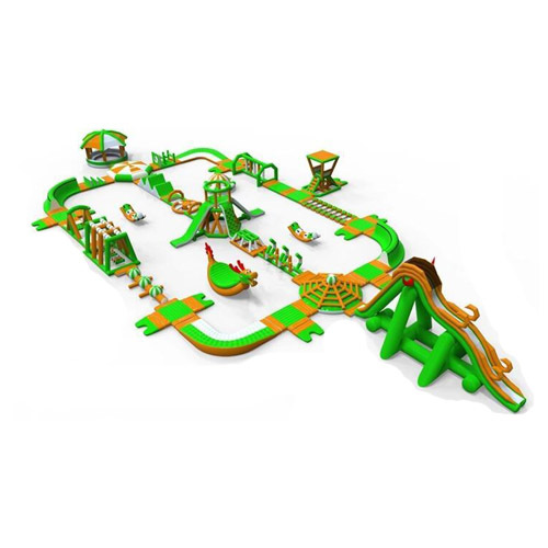 Choose good quality inflatable water park