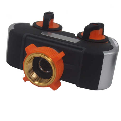 4 way garden hose splitter for lawn