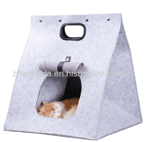 Felted cat litter felted dog litter cat litter four seasons environmental protection and pollution free suitable for hom