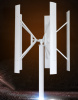 3kw on-Grid and off-Grid Vertical Axis Wind Turbine Generator for Home Using