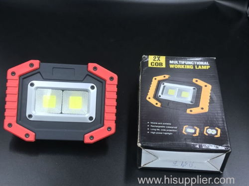 euroliteLED Recharging working lamp ABS BLACK YELLOW