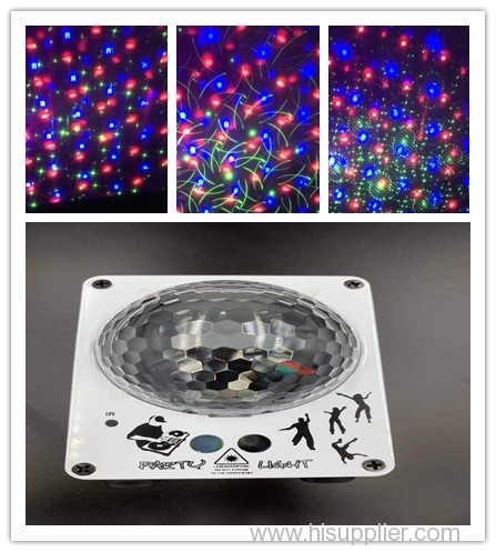 euroliteLED Laser light Party lights iron+aluminum+PC multi-color DC 5V Cuboid