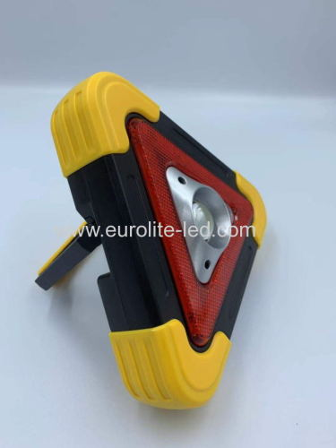 euroliteLED Solar Multi-function Work Light Warning Light 500lumen Yellow Green Silerywhite