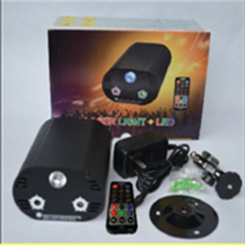 euroliteLED Mini Laser Lamp Colorful Star-filled Firefly Three-hole KTV Flash Laser Stage Lamp