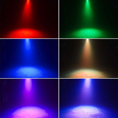 euroliteLED New RGB Full Color Palm Bar Party Mini KTV Flash Disco Stage Lighting