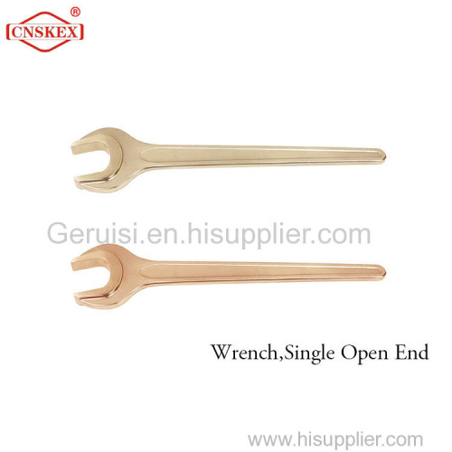 Wrench Single Open End non sparking Aluminum bronze 19mm