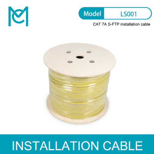 10GBit Ethernet Cat.7A S/FTP Installation cable 1000 m Simplex Dca