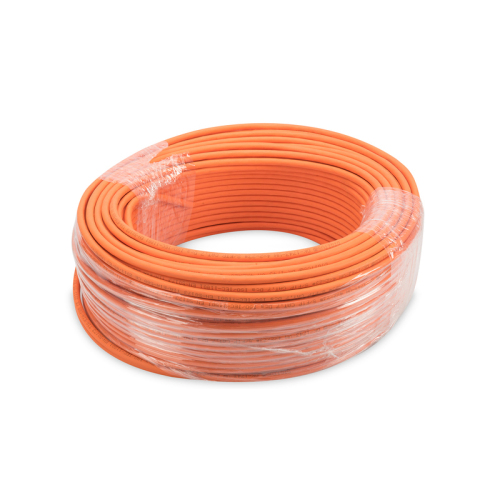 CAT 7 S-FTP installation cable Dca AWG 23/1 Orange LSZH