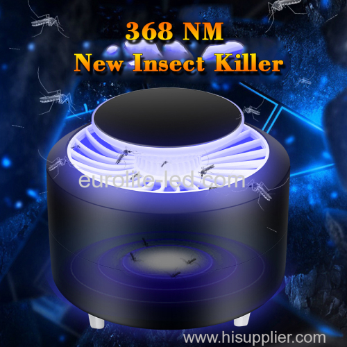 euroliteLED Electric Mosquito Insect Killer/Bug Zapper with 360 Degrees LED Trap Lamp USB Power Supply Mosquito Lamp