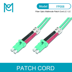 MC Fiber Optic Multimode Patch Cord OM 3 LC / LC
