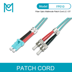 MC Professional Fiber Optic Multimode Patch Cord OM 3 LC / ST